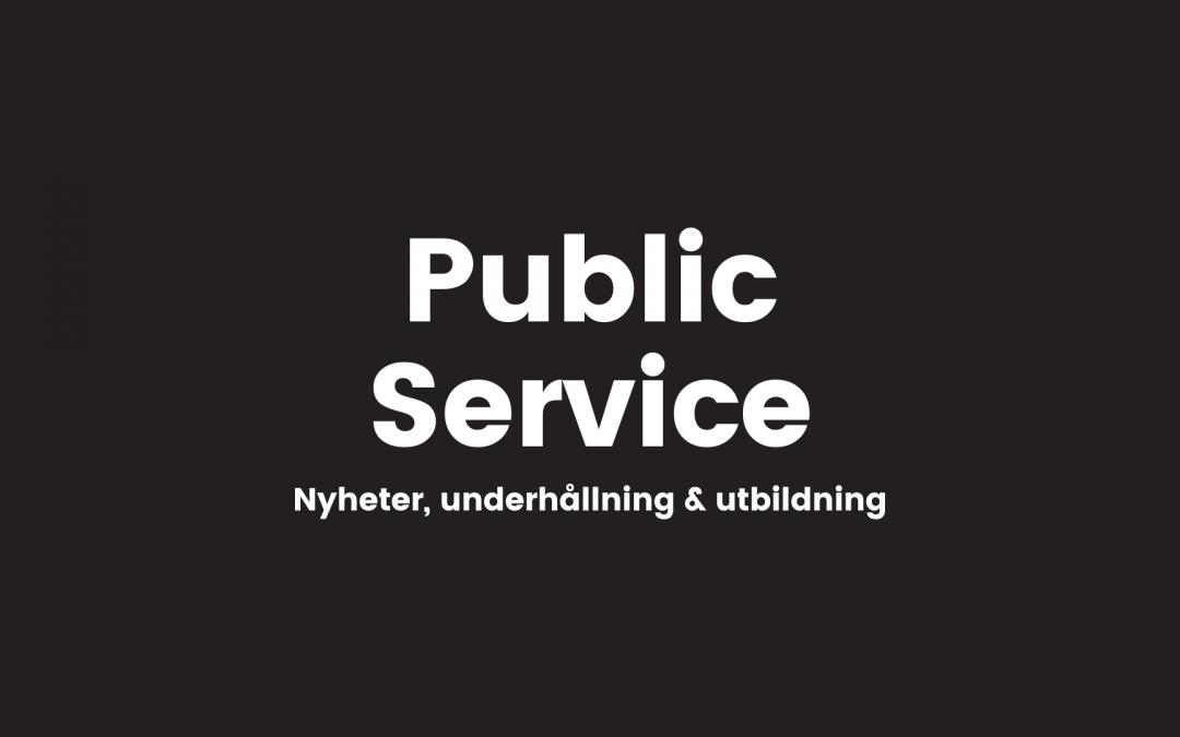 Public Service-tjänster